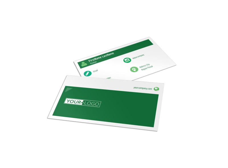 Healthy Diet Specialists Business Card Template