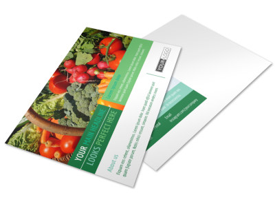 Healthy Diet Specialists Postcard Template