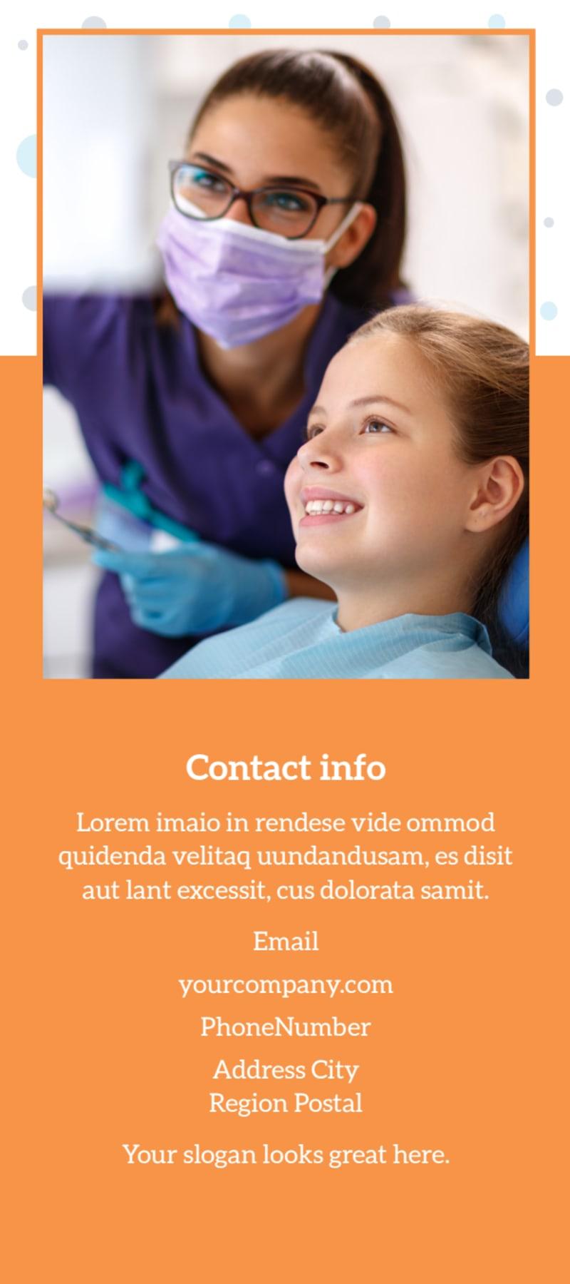 Pediatric Dental Care Flyer Template Preview 3