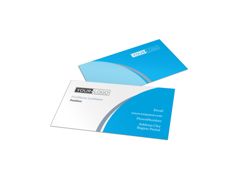 Pediatric Dental Care Business Card Template Preview 1