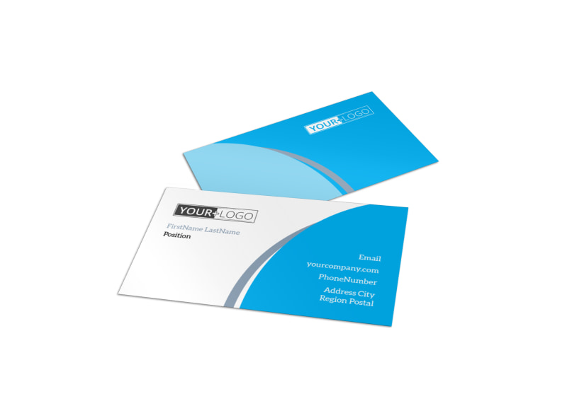 Pediatric Dental Care Business Card Template