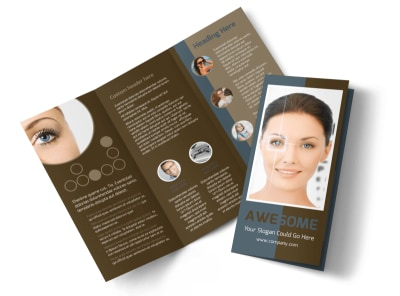 Vision Center Eye Doctor Tri-Fold Brochure Template