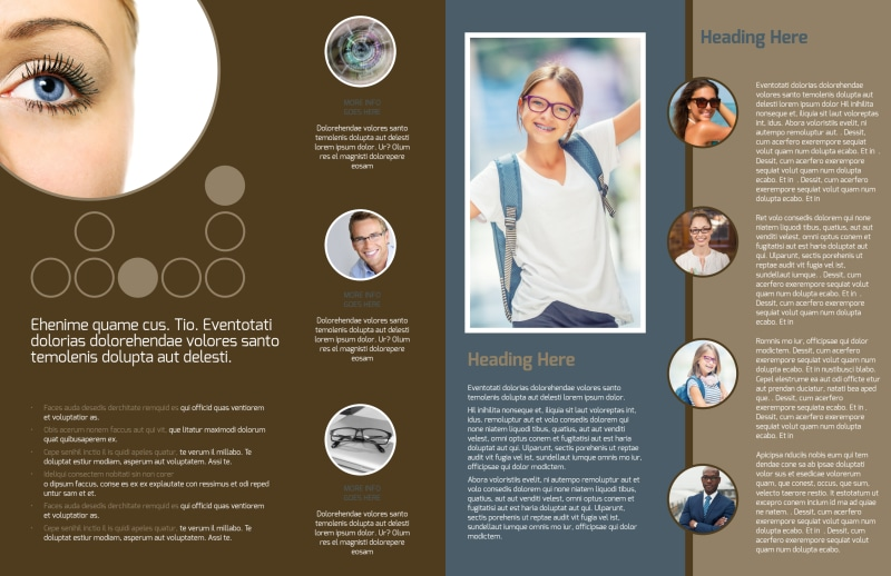 Vision Center Eye Doctor Brochure Template Preview 3