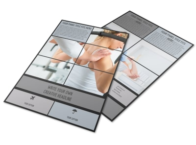 Physical Therapy & Rehab Flyer Template preview