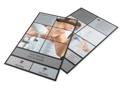 Physical Therapy & Rehab Flyer Template