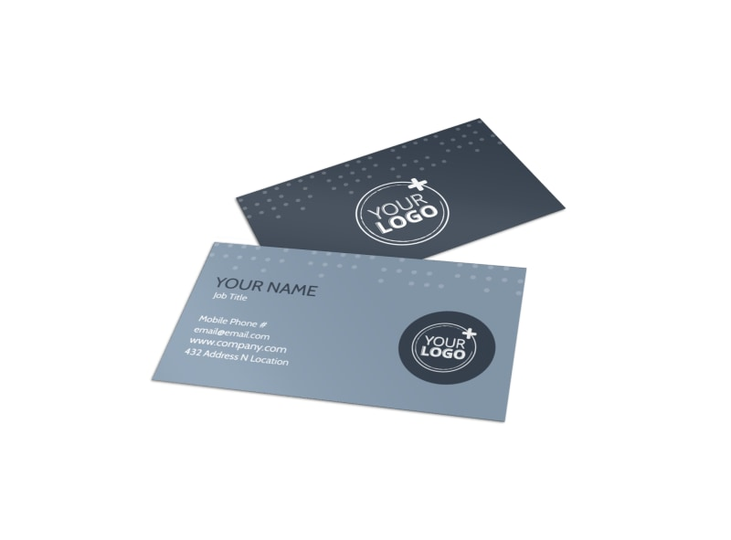 Piano Studio Business Card Template