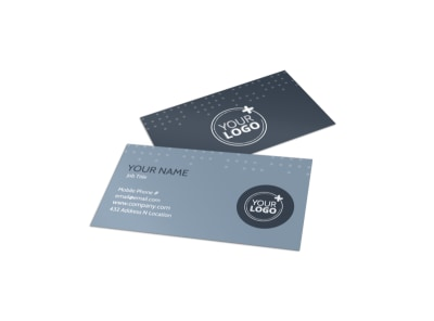 Piano Studio Business Card Template preview