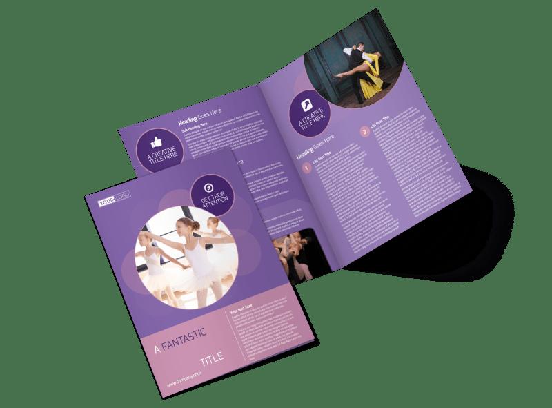 Main Dance Studio Brochure Template Preview 1