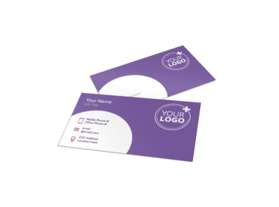 Main Dance Studio Business Card Template