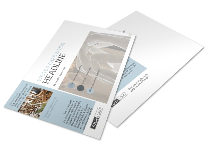 Art & Science Museum Postcard Template Preview 4