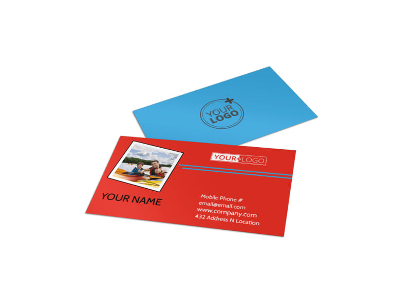 Summer Day Camp Business Card Template