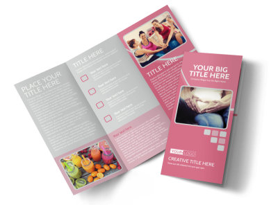 Pregnancy Assistance Center Tri-Fold Brochure Template