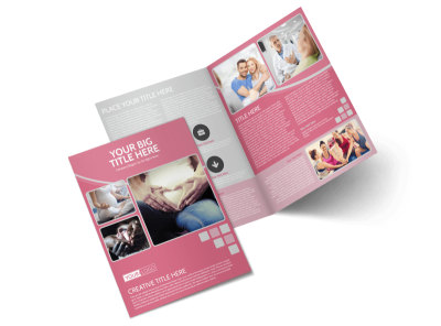 Pregnancy Assistance Center Bi-Fold Brochure Template