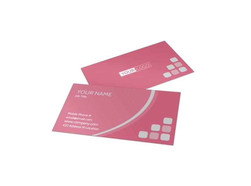 Pregnancy Assistance Center Business Card Template