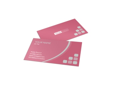 Pregnancy Assistance Center Business Card Template preview