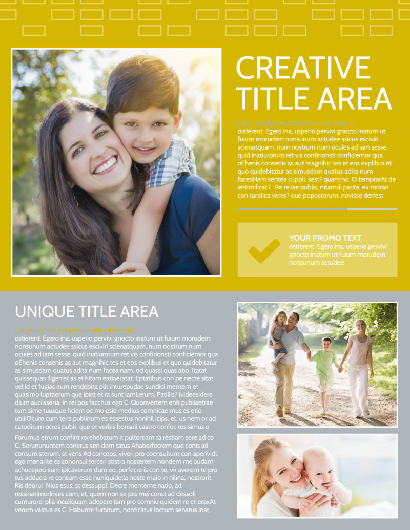 Adoption & Family Services Flyer Template Preview 2