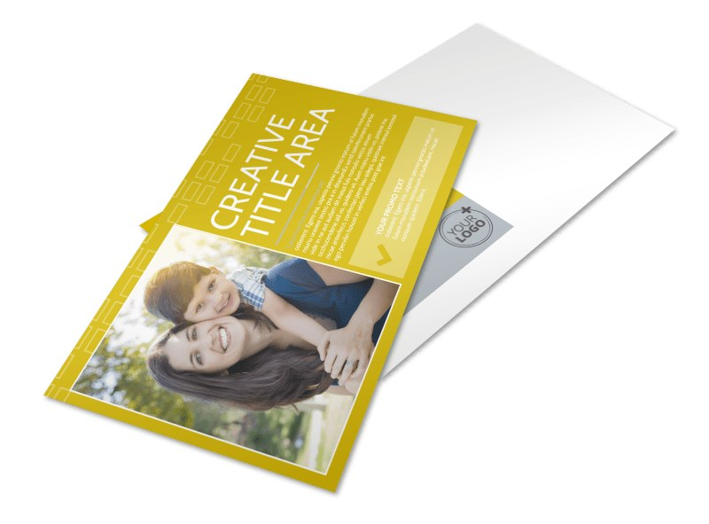 Adoption & Family Services Postcard Template