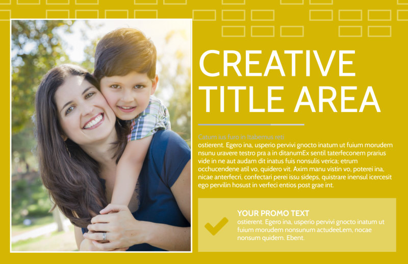 Adoption & Family Services Postcard Template Preview 2