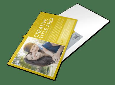 Non Profit Postcards Template Preview