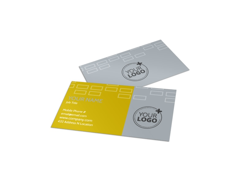 Adoption & Family Services Business Card Template