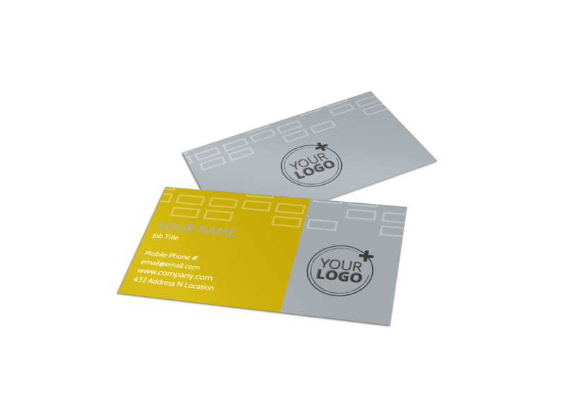 Adoption & Family Services Business Card Template Preview 1