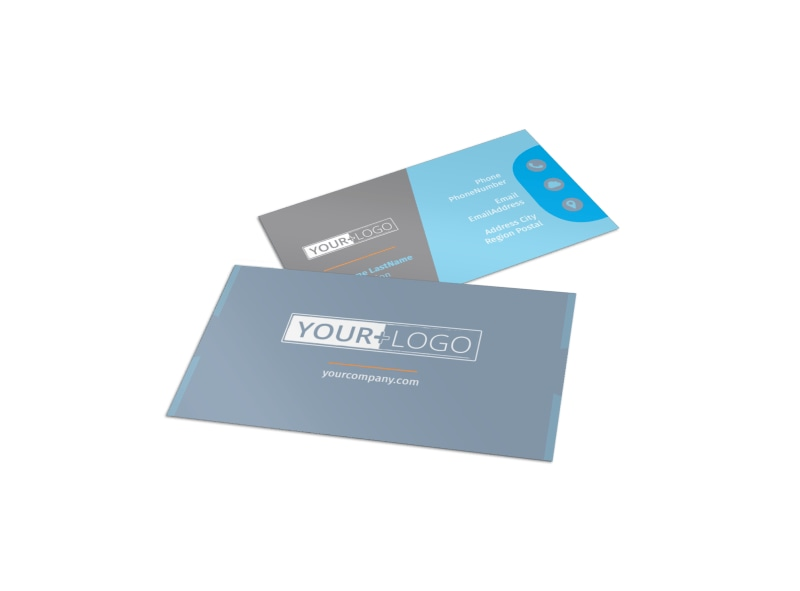 Child Placing Adoption Agency Business Card Template