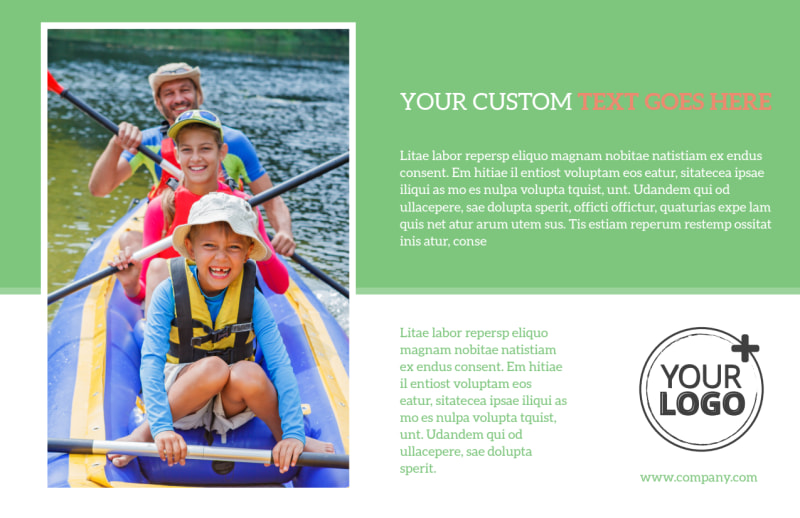 Awesome Summer Camp Postcard Template Preview 2