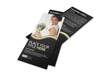 Memories Wedding Photography Flyer Template