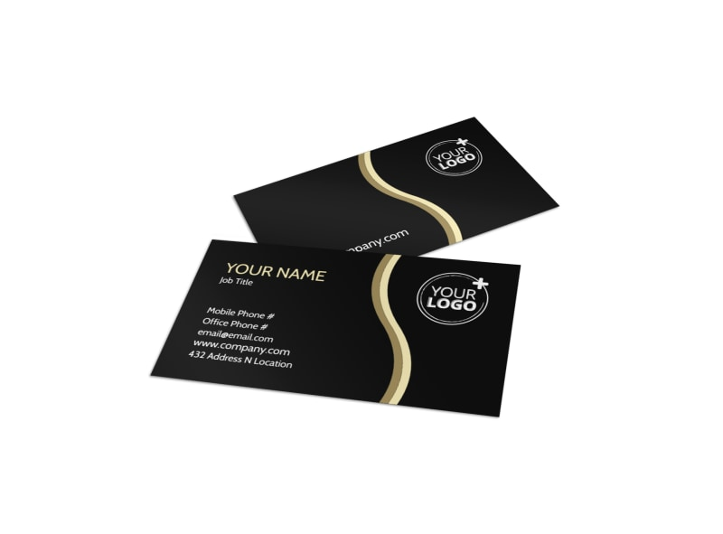 Memories Wedding Photography Business Card Template