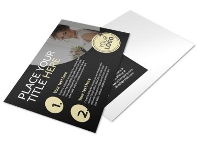Memories Wedding Photography Postcard Template