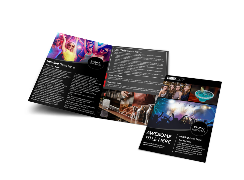 Popular Night Club Brochure Template Preview 1