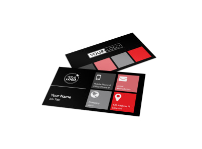 Popular Night Club Business Card Template preview