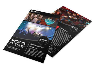 Popular Night Club Flyer Template preview