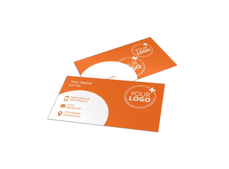 Kids Party Supply Al Business Card Template