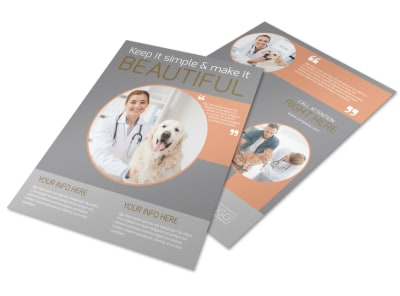 Valley Veterinary Clinic Flyer Template