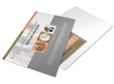 Valley Veterinary Clinic Postcard Template preview