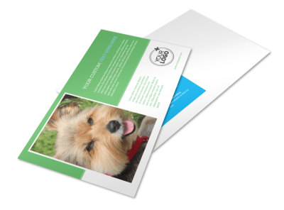 Doggie Daycare Postcard Template
