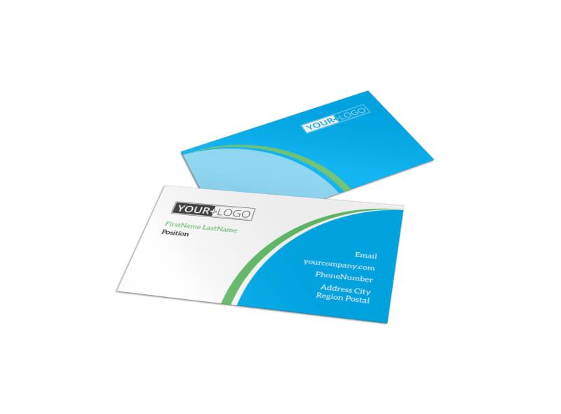 Doggie Daycare Business Card Template
