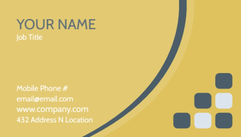 Infant Photography Business Card Template Preview 2