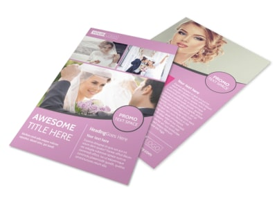 Wedding & Portrait Photography Flyer Template