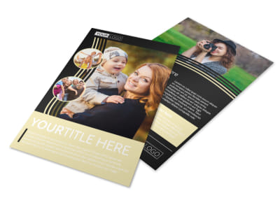 Playful Moments Photography Flyer Template