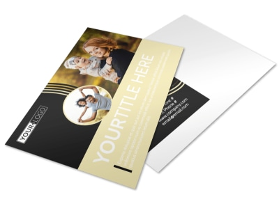 Playful Moments Photography Postcard Template