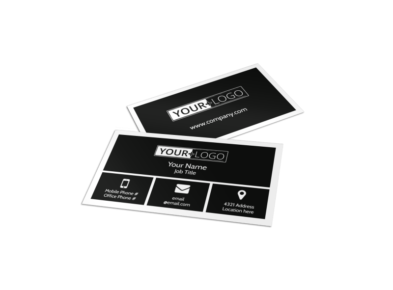 Wildlife Photography Business Card Template Preview 1