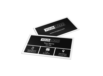 Wildlife Photography Business Card Template preview