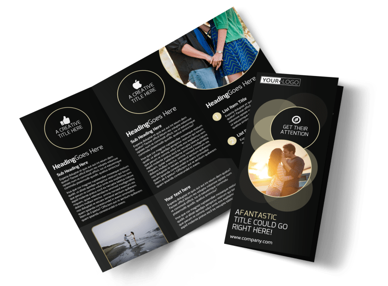 Couple Photography Brochure Template Preview 1