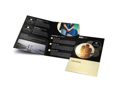 Couple Photography Bi-Fold Brochure Template