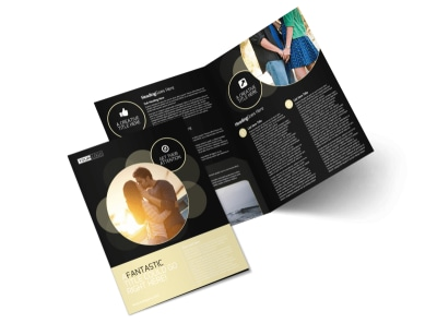 Couple Photography Bi-Fold Brochure Template preview