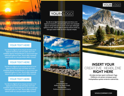 Nature Photography Brochure Template Preview 1