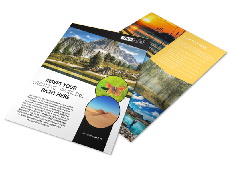 Nature Photography Flyer Template