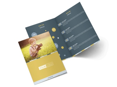 Kid Photography Bi-Fold Brochure Template